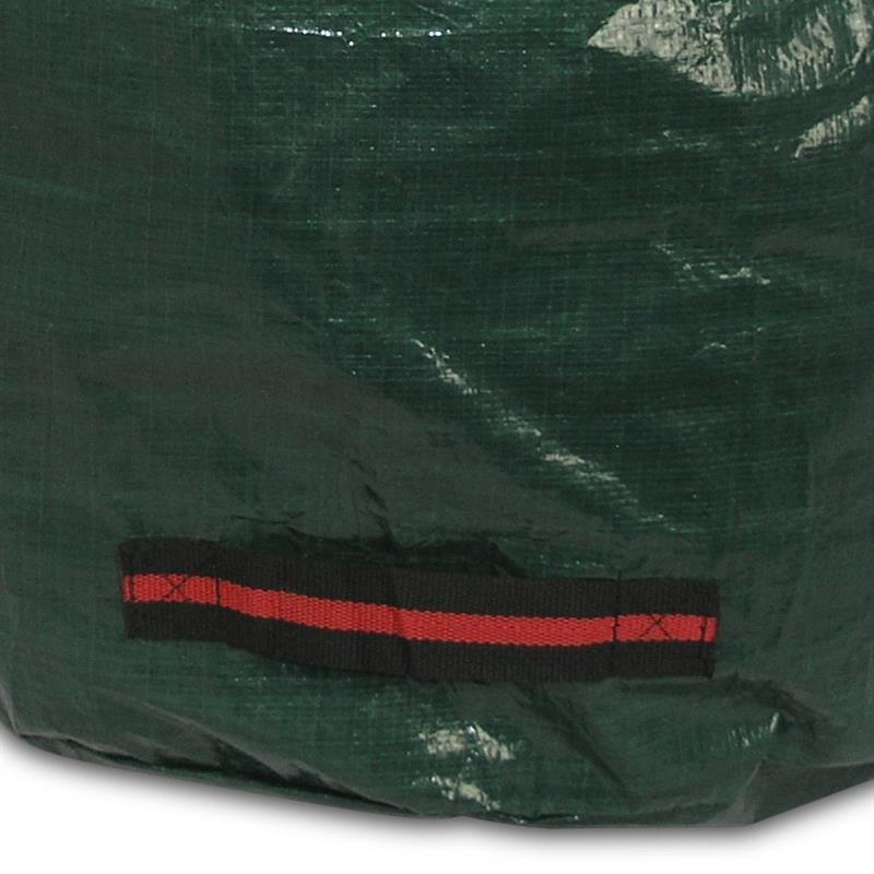 Gartensack Easy M 120l Ø 45x75 cm Laubsack grün