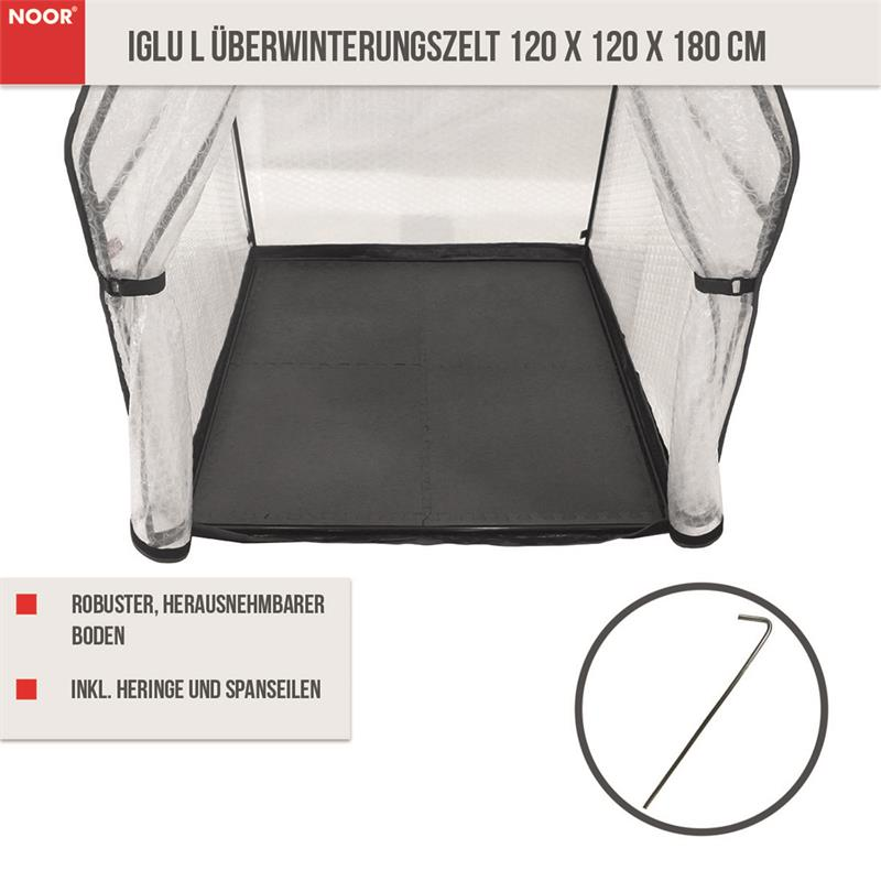 IGLU L Überwinterungszelt 120 x 120 x 180 cm