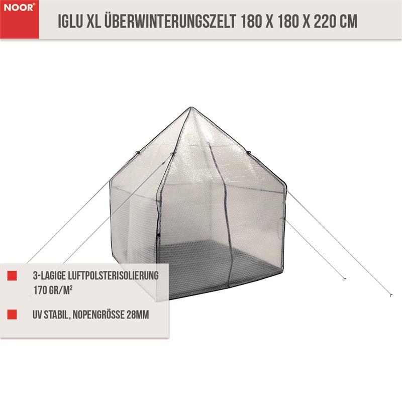 IGLU XL PRO Überwinterungszelt 180 x 180 x 220 cm
