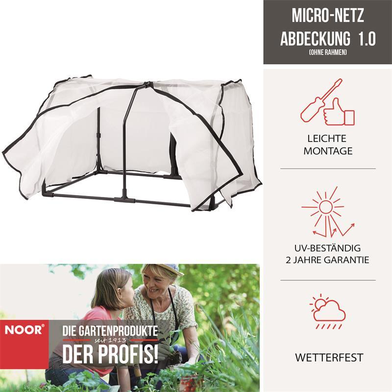 Micro-Netz Abdeckung ohne Rahmen VegTrug