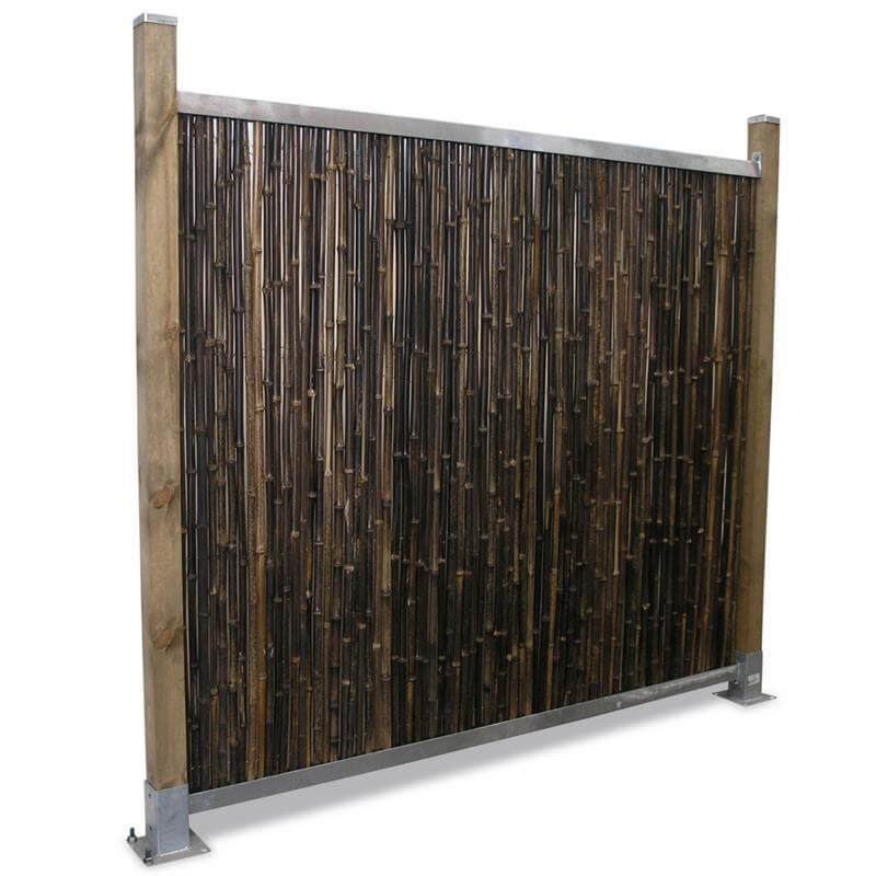 Bambusmatten Als Sichtschutz