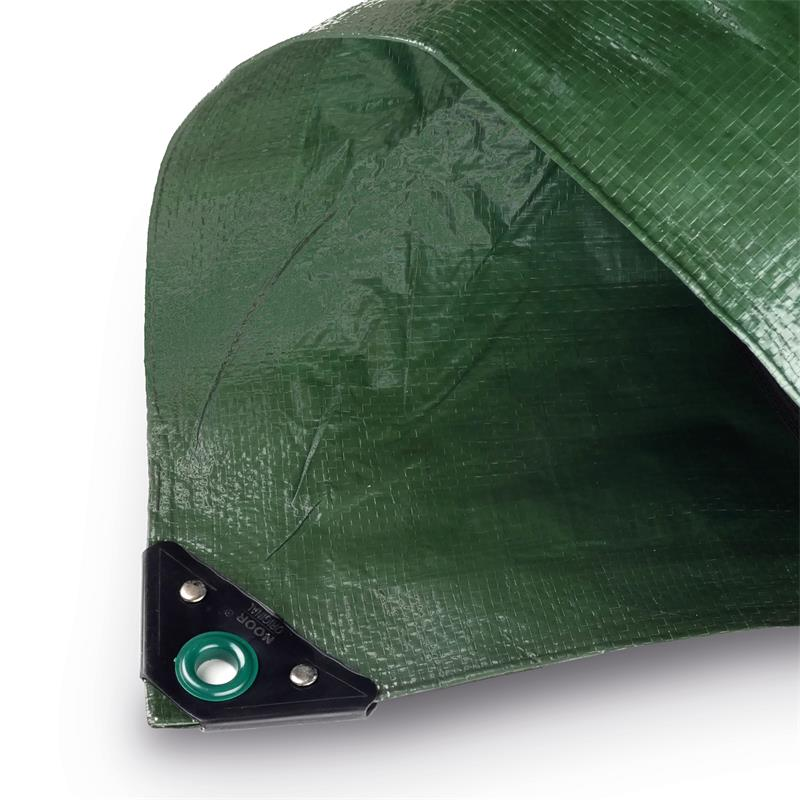 Grüne PP/PE-Plane 120gr/m² in grün