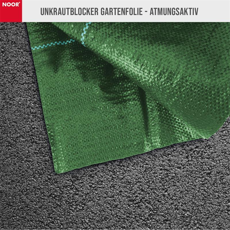 Unkrautblocker grün Bodengewebe 105gr/m² 0,9x10m