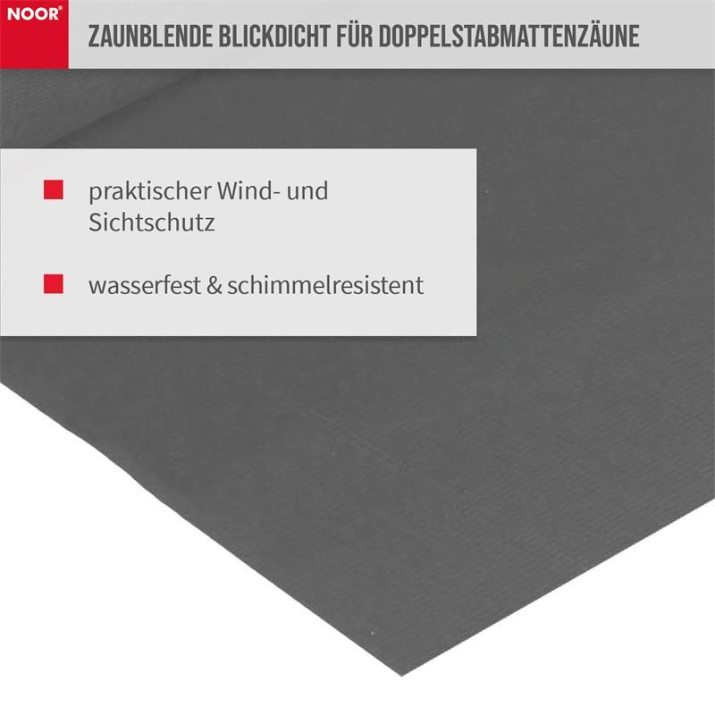 Sichtschutzstreifen PP Zaunblende PRO 0,19x35 m