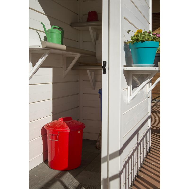 Wandregal EVO für Garofalo Gartenhäuser 73,5 cm