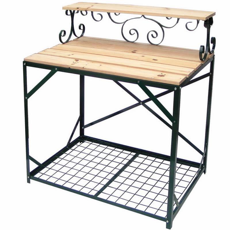 robuster pflanzentisch gartentisch g rtnertisch hampton. Black Bedroom Furniture Sets. Home Design Ideas