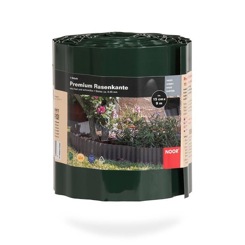 Rasenkante Premium 15cm x 9 lfm grün