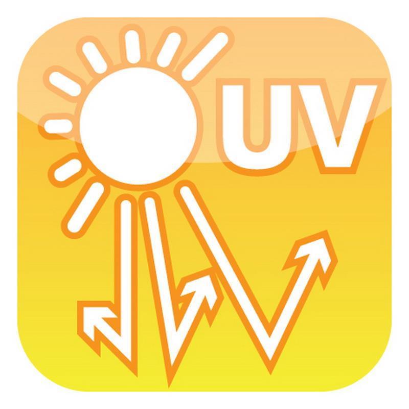 Die Kunsthecke ist UV-stabil und damit für den dauerhaften Außeneinsatz geeignet.