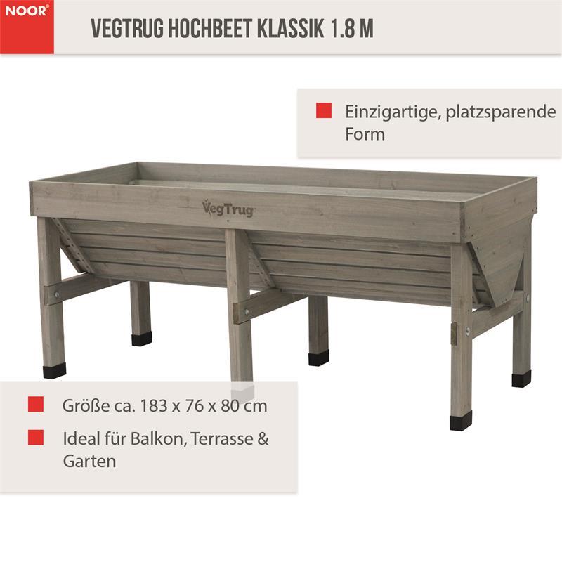 Hochbeet Klassik 183x76x80 cm VegTrug