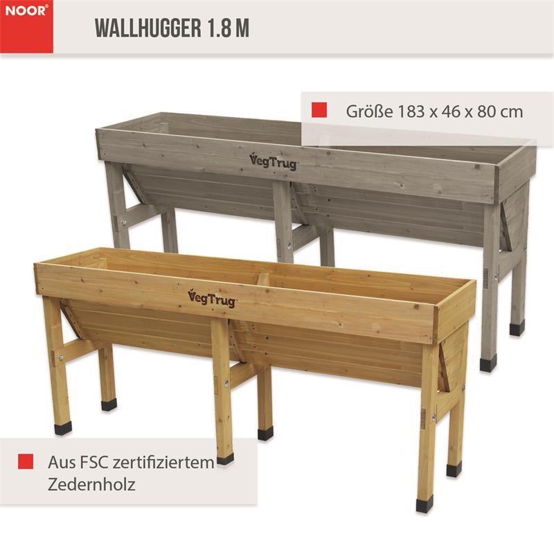 Hochbeet Wallhugger183x46x80 cm VegTrug