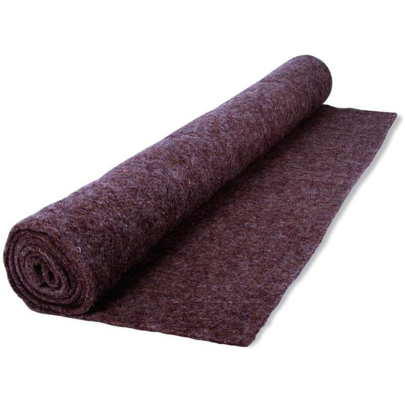 Schutzmatte aus Schafwolle Unkraut & Winterschutz