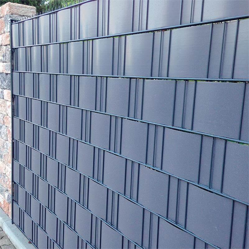 Sichtschutzstreifen PVC Muster Handmuster 30cm