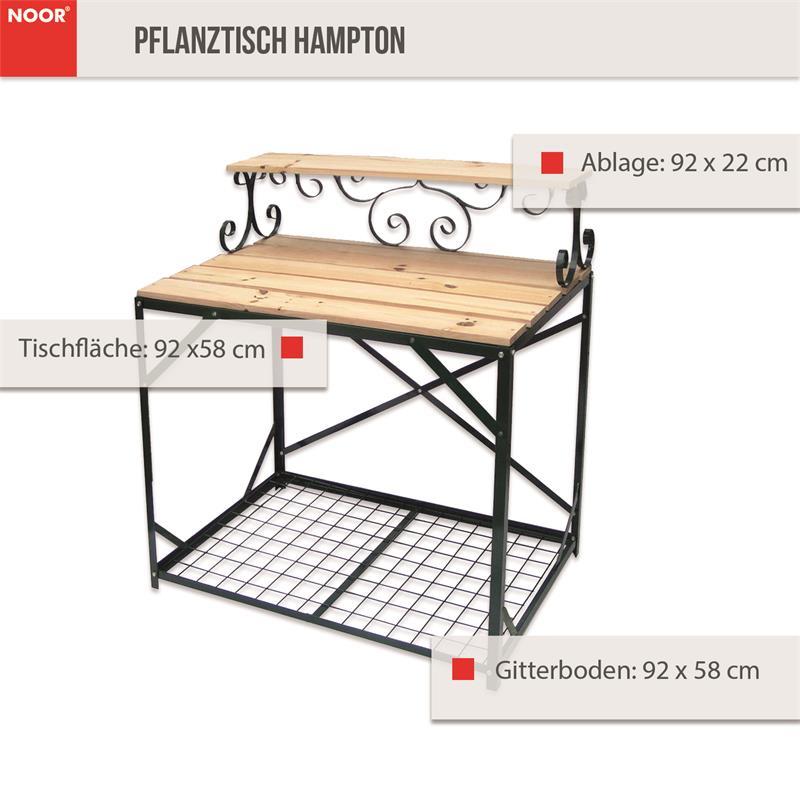 Den Gartentisch können Sie ohne Schwierigkeiten selbst schnell montieren.