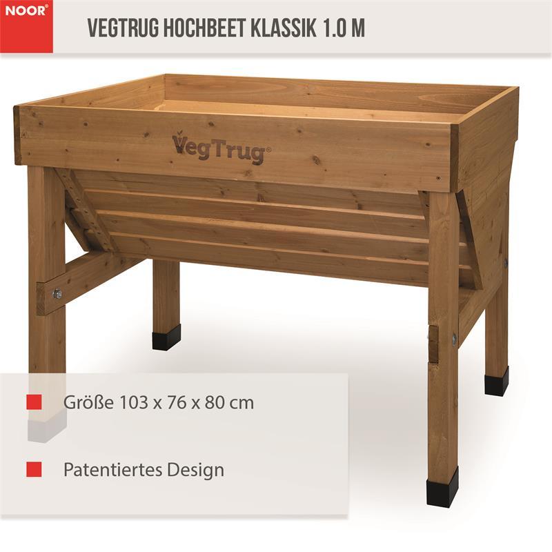 Hochbeet Klassik 103x76x80 cm VegTrug