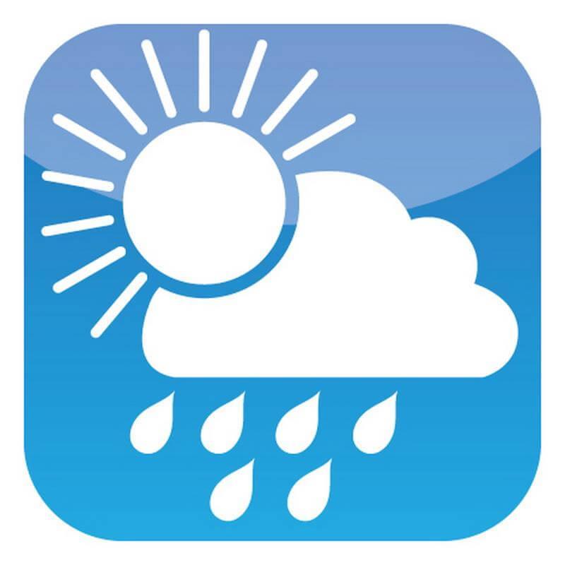 Wind, Wetter, Schnee und Regen schaden diesem Produkt nicht