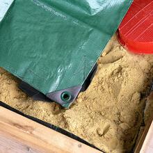 Sandkasten Abdeckplane