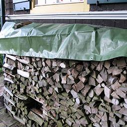Holzabdeckplanen