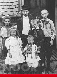 Familie Noor im Jahre 1912