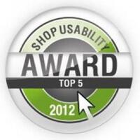 Shop Usability Award 2012 www.noor-online.de