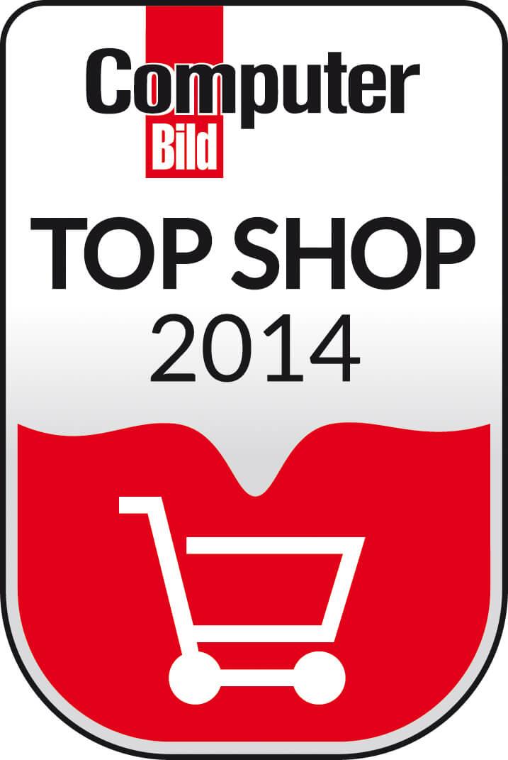Computer Bild TOp SHOP 2014 www.noor.eu
